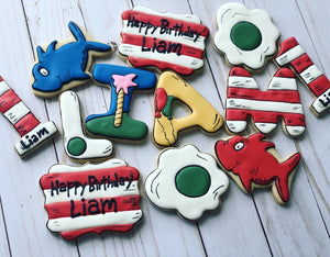 Dr. Seuss theme Cookies
