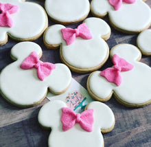 Load image into Gallery viewer, Minnie theme Cookies