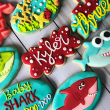 Load image into Gallery viewer, Baby shark Cookies