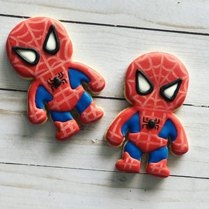 Superheroes Cookies