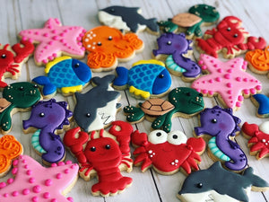 Under the sea theme Cookies