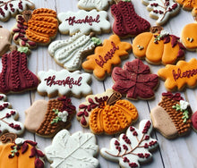 Load image into Gallery viewer, Thanksgiving theme Cookies