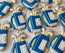 Load image into Gallery viewer, Golf bag theme cookies