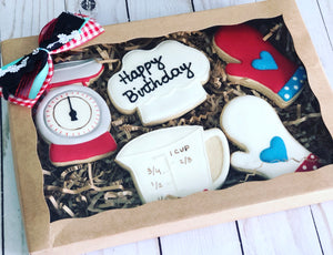 Cooking theme cookies gift