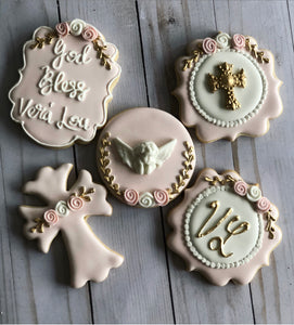 Confirmation / Communion / Baptism cookies