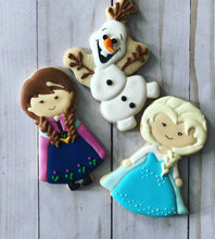 Load image into Gallery viewer, Frozen Princess Cookies