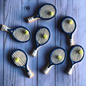 Tennis Racket cookies