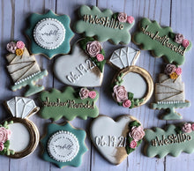 Load image into Gallery viewer, Bridal shower cookies