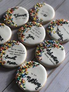 Retirement theme Cookies