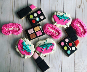 Spa makeup theme Cookies
