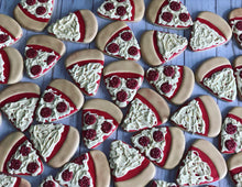 Load image into Gallery viewer, Pizza Party Theme Cookies