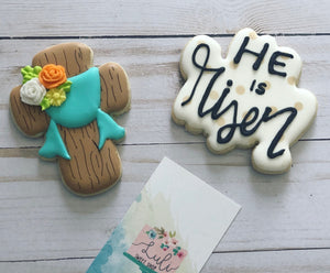 He is risen cookie gift