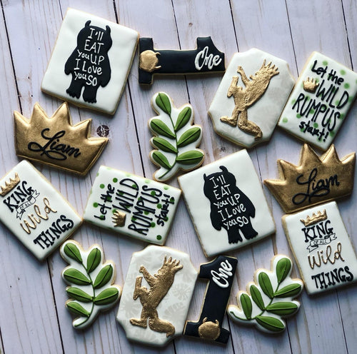 Where the wild things are theme Cookies