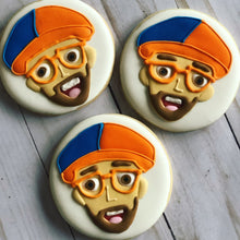 Load image into Gallery viewer, Blippi theme Cookies