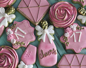 Quinceañera Theme Cookies (15th)