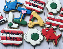 Load image into Gallery viewer, Dr. Seuss theme Cookies
