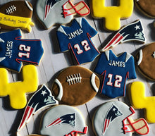 Load image into Gallery viewer, Football theme cookies