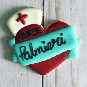 Nursing theme cookies gift