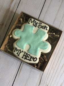 Autism therapists theme cookies