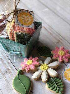 Mother Day basket cookies