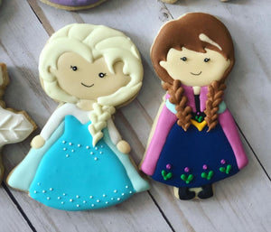 Frozen Princess Cookies