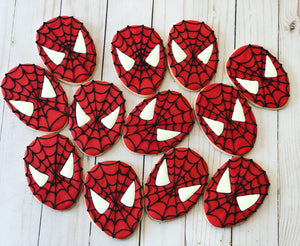 Superhero Cookies