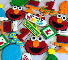 Load image into Gallery viewer, Elmo theme  Cookies
