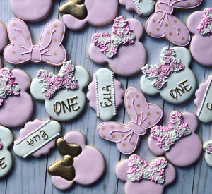 Minnie theme Cookies