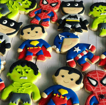 Load image into Gallery viewer, Superheroes Cookies
