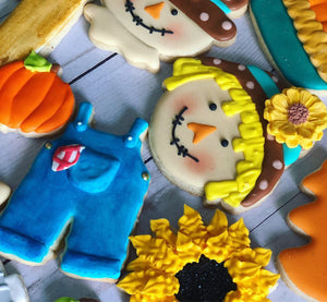 Fall theme Cookies