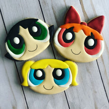 Load image into Gallery viewer, Power puff girl Theme Cookies
