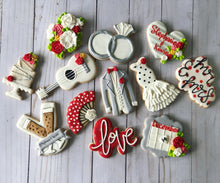 Load image into Gallery viewer, Flamenco Wedding cookies