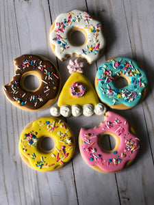 Donut theme Cookies