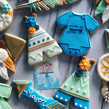 Load image into Gallery viewer, Baby shower Boho cookies