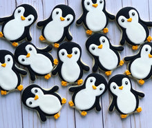 Load image into Gallery viewer, Penguin Cookies