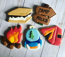 Load image into Gallery viewer, Camping Theme Cookies