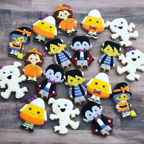 Halloween Characters Sugar  Cookies