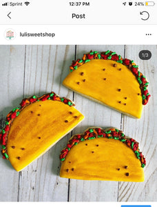 Food theme Cookies
