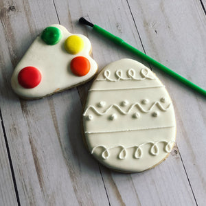 PYO Cookies Easter - egg shape