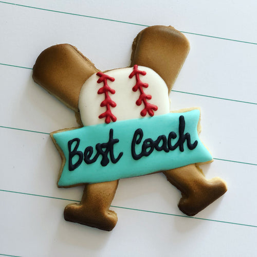 Teacher appreciation week cookies, coach cookies