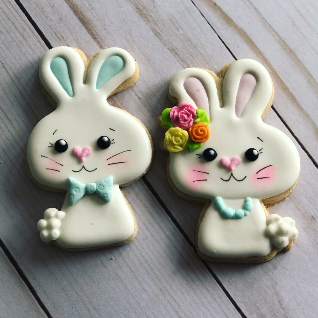 Easter cookie gift - rabbits
