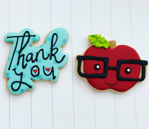 Teacher appreciation week cookies