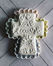 Load image into Gallery viewer, Easter cookie gift- cross