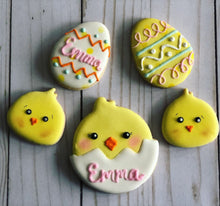 Load image into Gallery viewer, Easter cookie gift - 6 cookies