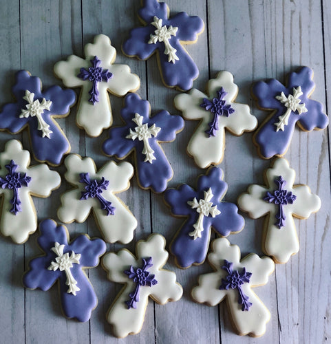 Crosses cookies