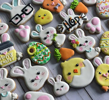 Load image into Gallery viewer, Easter cookies variety design