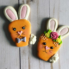 Load image into Gallery viewer, Easter cookie gift - carrots