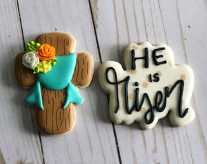 Easter cookie gift- silly rabbit