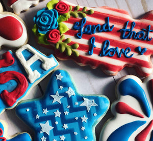 America theme cookie theme