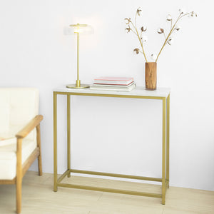SoBuy FSB29-G Table Console Table d'Appoint Bout de Canapé Table d'Entrée